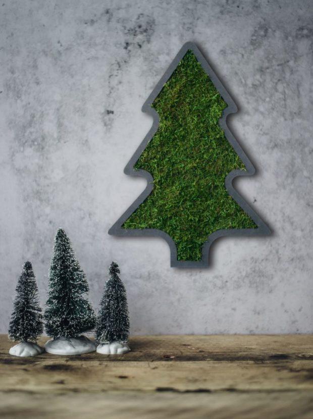 Weihnachtsbaum Moos